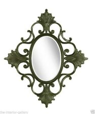Mirror - Large Framed Wall Mirror - Neo Classical Modern Mirror - Hand Carved
