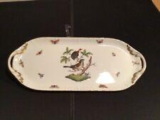 Herend Rothschild, Kuchenplatte Nr. 436 RO 36 x 15 cm sehr guter Zustand