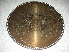 """Ben Bolt Polyphon Automat Platte 39,5cm Spieluhr Germany antique disc 15 1/2"""""""