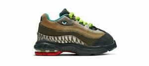 "NIKE AIR MAX 95 ""DINOSAUR INSPIRED"" CI9945-300 Outdoor Green Cyber Toddler Size"