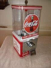 25 cent COCA COLA COKE Gumball Vending Machine GumBall Peanut Candy Garage