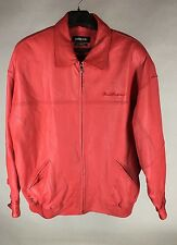 Pelle Pelle Leather Jacket Red Men's Size 50