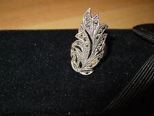 Damen Wunderschöner Ring Silber Markasit  Gr. 16