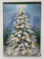 12 Christmas Cards and Envelopes (New Boxed) Navidad, Holidays, Greeting, Xmas
