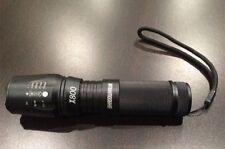 FLASHLIGHT ShadowHawk LED Flash light X800 Bright Zoom Military Grade Torch,AAA