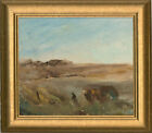 Mid 20th Century Oil - Sweeping Landscape