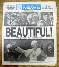 <1979 newspaper POPE JOHN PAUL II says Open Air Mass in PHILADELPHIA Catholic