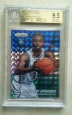 2014/15 Panini Prizm Blue and Green Mosaic Andrew Wiggins