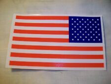"""New listing Bulk Lot Of 50 3""""x 5"""" American Flag Window - Decal Window Cling (Reusable) New!"""