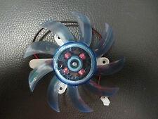 2 PIN 75 mm 7.5 cm 3 FORI BLU GRAFICA VGA Scheda Video Dissipatore Cooler ventola di raffreddamento