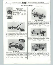 1958 PAPER AD Ideal Toys Trucks Atomic Cannon Sly Sweeper Mobil Tow Wrecker