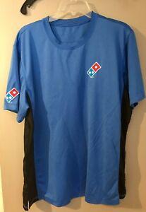 Dominos Men's Size Large Work Shirt