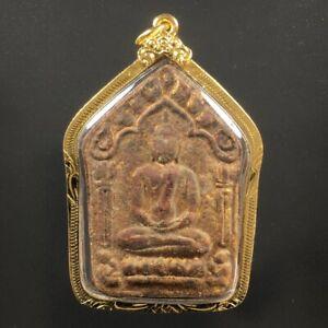 PHRA KHUN PAEN LP TIM WAT LAHANRAI TALISMAN THAI BUDDHA AMULET