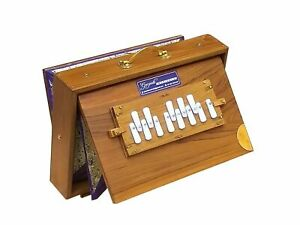 "SHRUTI BOX~TEAK WOOD~SIZE(15"" X 10"" X 3"")~440 Hz~SWAR PETI~MEDITATION~CHANT~YOGA"