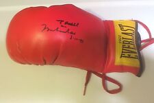 MUHAMMAD ALI Hand Signed Autographed BOXING GLOVE ~ W/COA 2922