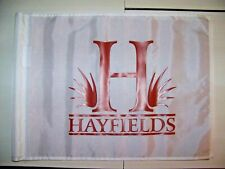 HAYFIELDS Country Club Golf Course Pin Flag (New!!)