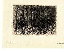 Walter Miehe 2.g. - r. - r. en la guerra marsche pintor * era artist * 1.wk