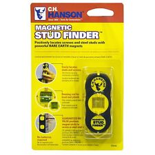 CH Hanson 03040 Magnetic Stud Finder Powerful magnets Small Hand Held compact