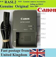 Genuino, originale Canon charger,cb-2lze NB-7L PowerShot G10 G11 G12 SX30 IS UK