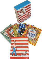 Where's Wally? The Magnificent Mini 5 Books Gift Box Set Inc Magnifying Glass