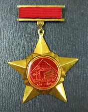 Vietnam Badge, VI SU NGHIEP XAY DUNG. For Building Merit Award