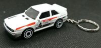 Hot wheels audi sport quattro keyring diecast car