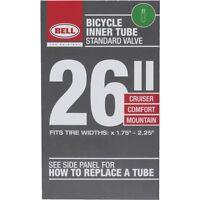 "UNIVERSAL BICYCLE INNER TUBE - SCHRADER VALVE - 26"", 1.75"" TO 2.25"""