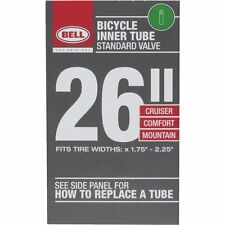 "UNIVERSAL BICYCLE INNER TUBE - SCHRADER VALVE - 26"", 1.75"" TO 2.25"""