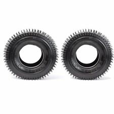 Pair 13x6.50-6 Tire Tubeless Lawn Mower Tractor Scooter ATV 13x6.50x6 13x650-6
