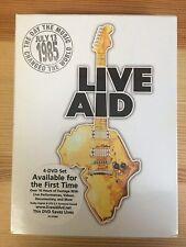Live Aid (4-Disc DVD Set) Bowie, U2, Madonna, Queen, McCartney, Neil Young