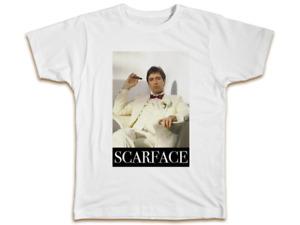 Scarface Mens T-Shirt Tony Montana Movie Men Women Top Funny Birthday Gift