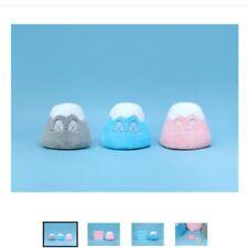 KAWS Holiday Japan Mt Fuji Plush Doll Gray Pink Blue set Exclusive 400 Limited