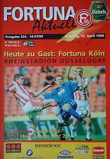 Programm 1997/98 Fortuna Düsseldorf - Fortuna Köln