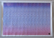 PRL) SATURN VIEW VINTAGE AFFICHE POSTER 3D ANNI' 90 ART PRINT PICTURE PHOTO