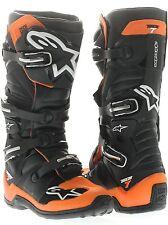 Stivali Cross Alpinestars Tech 7 Mx Boots Black Yellow Fluo Red 47 EU / 12 US