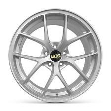 4 X BBS Alloy Wheels Rim Sports Mags 18X8 5x112 ET42 SILVER