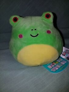 Squishmallow Flip A Mallow 5 Inch Wendy Red Eye Frog To Hank the Aqua Hippo NWT