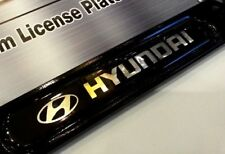 License Plate Frame for HYUNDAI Gloss Black Genesis Veloster Elantra Accent