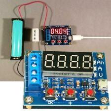 18650 Li-ion Lithium Lead-acid Battery Capacity Meter Tester Discharge X1W1