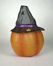 PartyLite Mr Pumpkin Head P9774 Treat Dispenser Candle Holder Halloween Hat