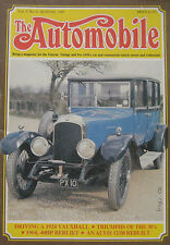 The Automobile magazine Vol.3, No.6 08/1985 featuring Triumph, Vauxhall, Alvis