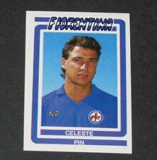 #99 PIN VIOLA FIORENTINA FOOTBALL CALCIO 1987-1988 EUROFLASH ITALIA PANINI