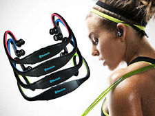 STEREO Wireless Bluetooth Cuffie Cuffie Sport per iPhone HTC Samsung