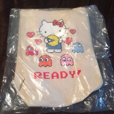 SDCC SD Comic Con 2017 BAIT Hello Kitty Pacman Canvas Tote Bag NIP EXCLUSIVE