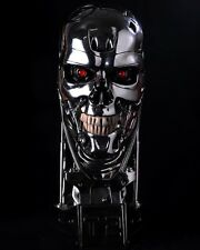 Terminator Salvation T-800 Skull LED eyes 1:1 Life Size Scale