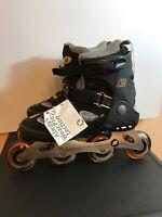 K2 Kinetic Inline Skates 6000 Series Aluminum W Women's Size 10.5 Wheels 77.5