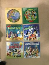 Disney Records - Vintage - Lot Of 6