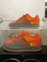 Nike Air Force 1 Low Stealth/Orange And Gray 9/27/07 (314192-081)Size 5Y