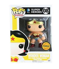 FUNKO POP! WONDER WOMAN #8 METALLIC LIMITED CHASE EDITION VAULTED DC HEROES NEW