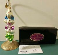Vintage NEW Christopher RADKO 2000 Hop To It Gem Easter Ornament 00-536-0 Xmas